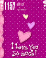 Theme điện thoại Love you so much